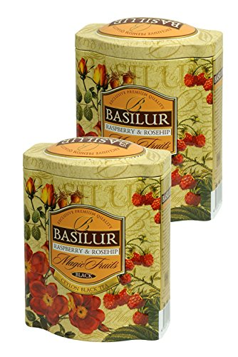 Basilur Raspberry Rosehip Premium Collection