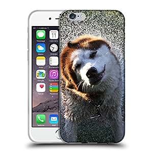 """Super Galaxy Coque de Protection TPU Silicone Case pour // V00000802 Patrón del perro de perrito // Apple iPhone 6 6S 6G PLUS 5.5"""""""