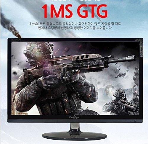 """New 24/"""" ViewSonic VSM240R Real 144Hz FHD HDMI 1920x1080 LED Gaminig Monitor"""