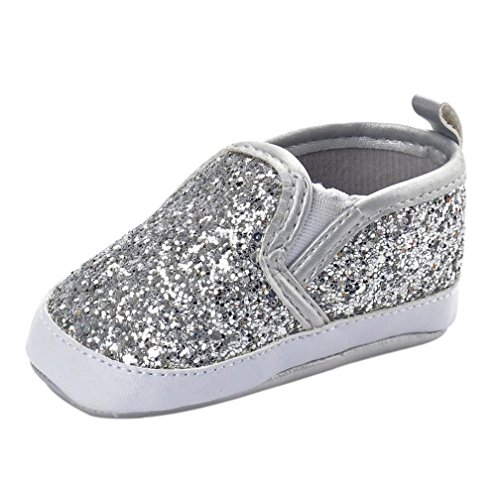 7e627ce6938 Zolimx      Niñas Recién Nacidos Niños Cuna Zapatos Suave Suela  Antideslizante Zapatillas de