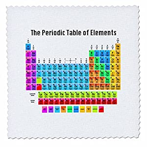 Amazon 3drose the periodic table of elements quilt square 8 3drose the periodic table of elements quilt square 8 by 8 inch qs1083183 urtaz Choice Image