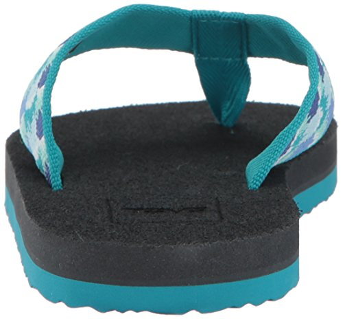 Teva Unisex-Kinder K Mush II Zehentrenner Blau (Rhia Aquamarine)