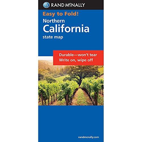 Rand McNally Easy to Fold: Northern California (Laminated) (Rand McNally Easyfinder)