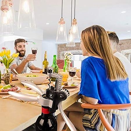 whbage Sacacorchos Abridor de Vino Profesional Premium Rabbit Lever Sacacorchos Sacacorchos Botella de Vino Abridor Kit de Herramientas Juego de Regalo