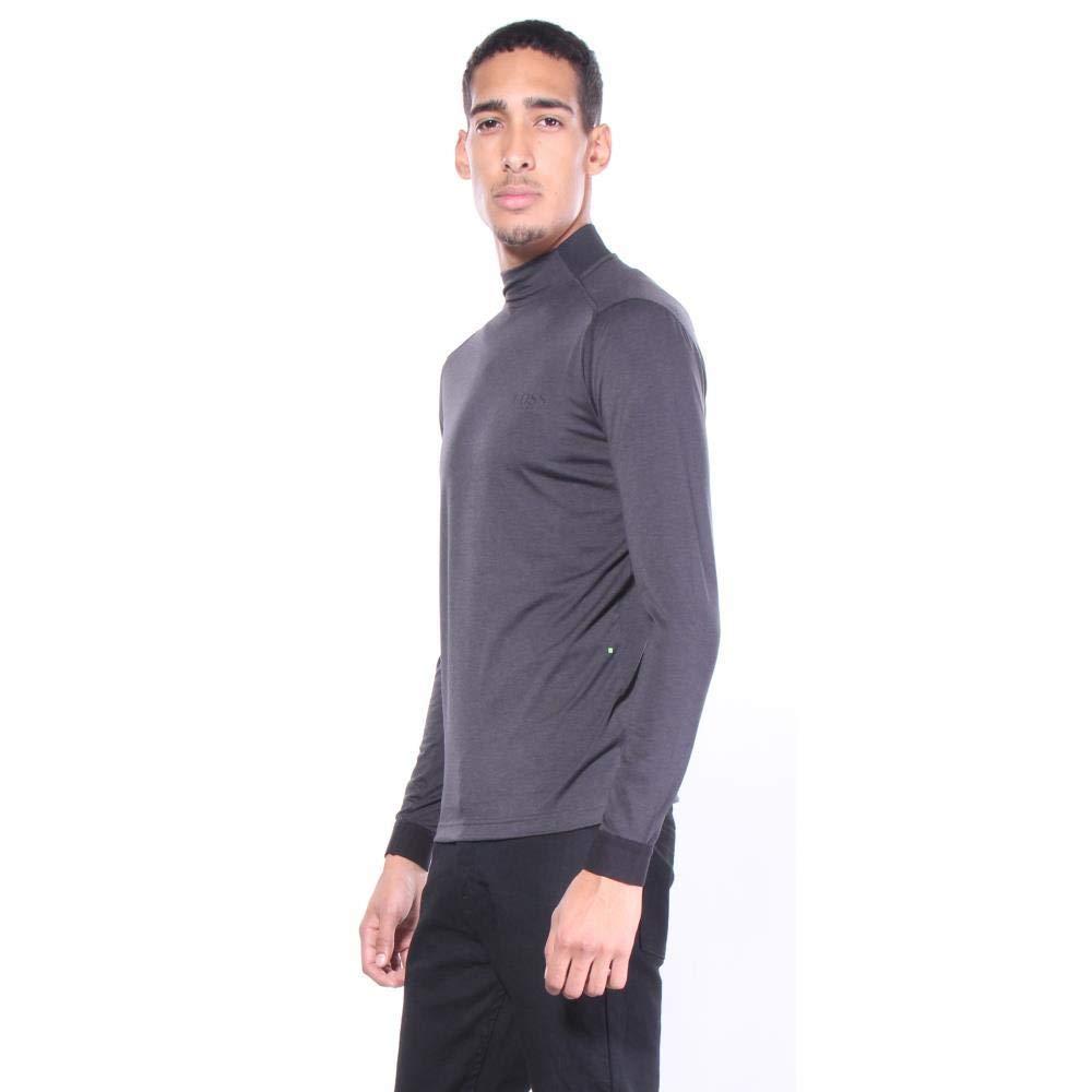 Hugo Boss Mens Pekerum Pro Pullover Sweatshirts 77/% Polyester 18/% Wool 5/% Elastane