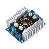 DROK DC-DC Constant Current Boost Voltage Regulator 10-32V to 10-46V 150W 16A Adjustable Output Step Up Volt Converter