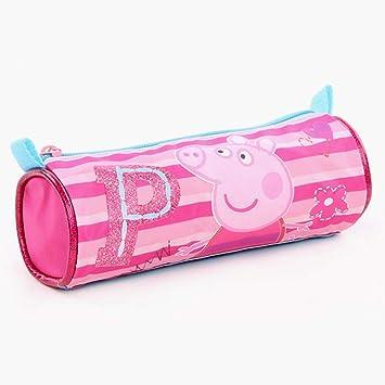 Peppa Pig Caja de Lápiz Rosa Be Happy | Niños Escuela Bolsa ...