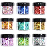 Glitter Wenida Holographic Cosmetic Festival Chunky Body Glitter for Nail Hair Face