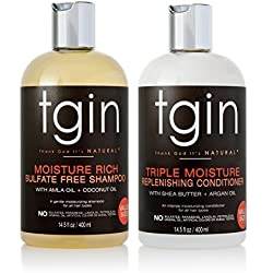 tgin Shampoo + Conditioner Duo