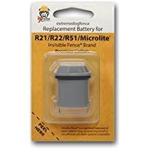 Invisible Fence Collar Compatible Underground Dog Fence Batteries for All Series of the Invisible Fence Brand Collar Receivers - 1 Pack
