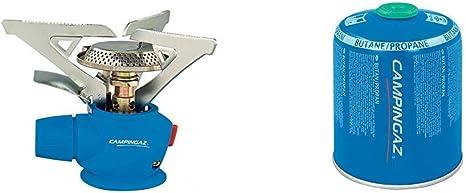 CAMPINGAZ Twister Plus PZ - Cocina con Gas para Cartucho CV 470/Cv 300 + CV 470 Plus Cartucho Gas con Valvula, para Cocina Camping, Compacto y ...