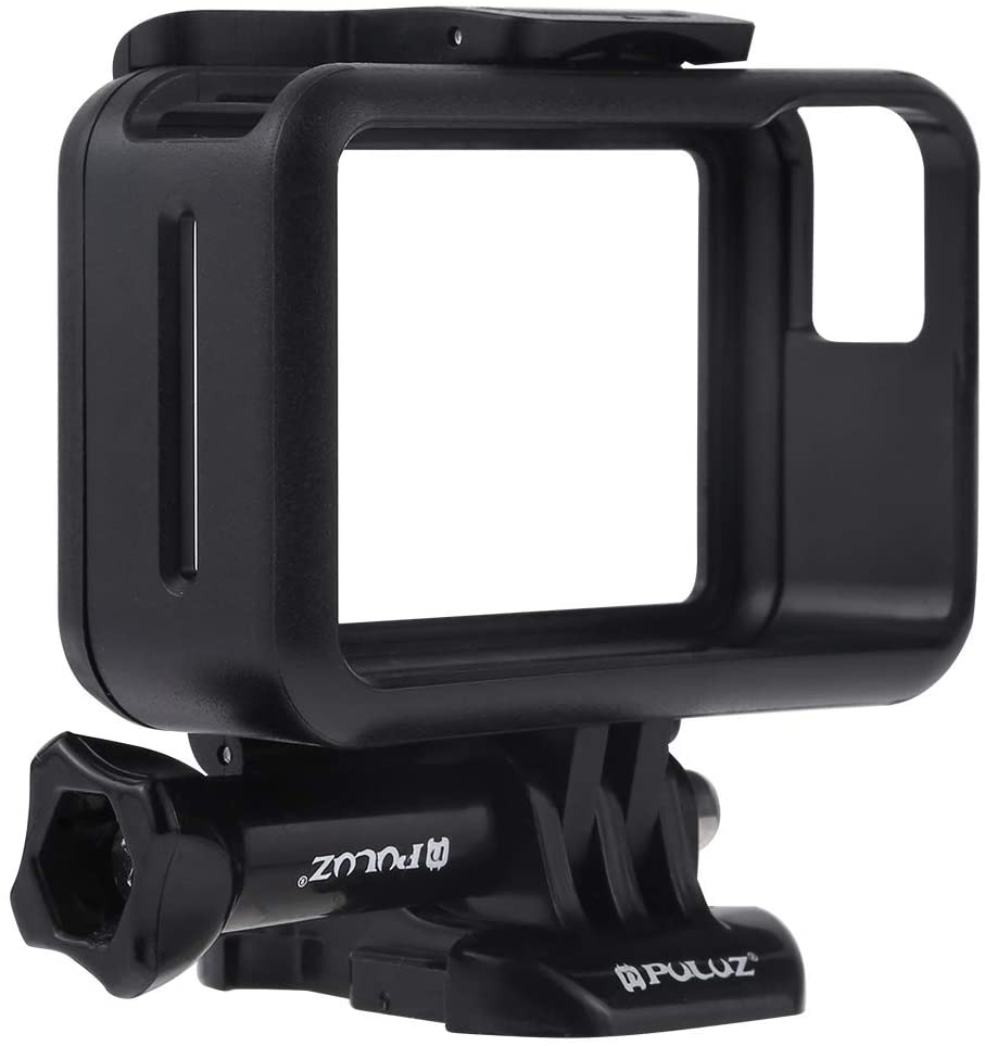 Durable Color : Black CAOMING Standard Border Frame ABS Protective Cage for DJI New Action Black with Buckle Basic Mount /& Screw