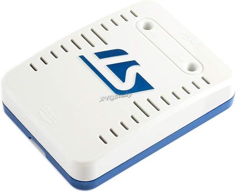SPI, I2C, CAN, GPIOs STLINK-V3SET Microcontrollers ST STM8 and STM32 MCU USB Swim JTAG SWD Modular Stand-Alone in-Circuit Debugger Programmer @XYG