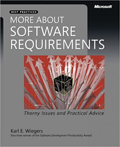 SOFTWARE REQUIREMENTS WIEGERS EBOOK