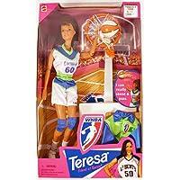 MUÑECA BARBIES TERESA WNBA BALONCESTO, 1998