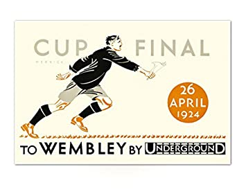FA Cup Final Poster Print