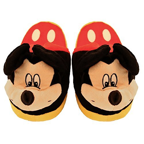 Stompeez Animated Mickey Mouse Plush Slippers - Ultra