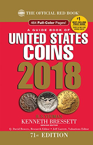 A Guide Book of United States Coins 2018: The Official Red Book, Hardcover Spiral