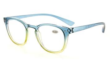 7694f9ef483 Amazon.com  Eyekepper Fashion Readers Womens Reading Glasses (Blue ...