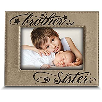 Amazon.com - BELLA BUSTA Brother and Sister photo frame- Sibling ...