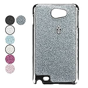 GHK - Twinkle Mirror Hard Case for Samsung Galaxy Note I9220 (Assorted Colors) , Silver