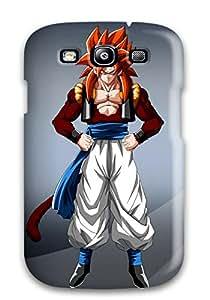 Evelyn C. Wingfield's Shop Case Cover, Fashionable Galaxy S3 Case - Vegeta Ssj 9825421K43012751