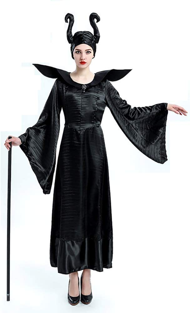 KIRALOVE Disfraz - maléfica - maléfica - Bruja Malvada - Bella ...