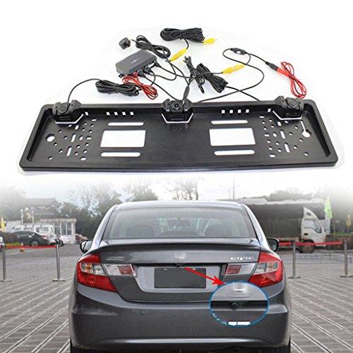 Car Backup Camera, Dacawin Licence Plate Waterproof radar reversing camera (Silver) by Dacawin (Image #5)