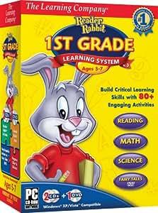 Amazon.com: TLC Reader Rabbit 1st Grade Learning System 2008
