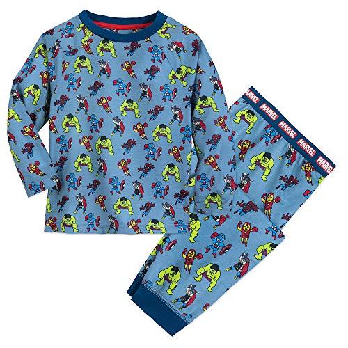 Marvel Avengers PJ Set for Boys Size 9/10