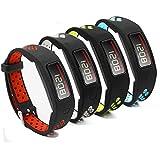 4 Pack Garmin Vivofit Replacement Bands-Budesi Colorful Fitness Wristband for Garmin Vivofit Large L Small S for Kids Men Women (Free Size)