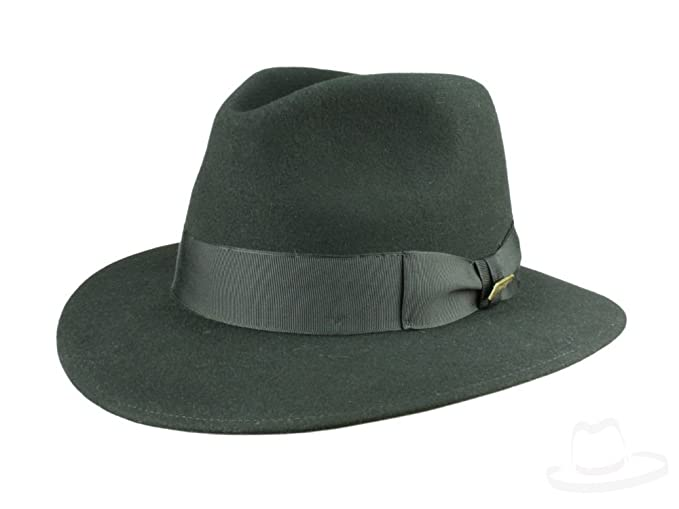 MAYSER Indiana Jones Cappello Nero nero  Amazon.it  Abbigliamento f284aff96f7b