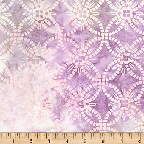 Timeless Treasures Tonga Batiks Jewel Amethyst Wedding Ring Chill Fabric by The Yard