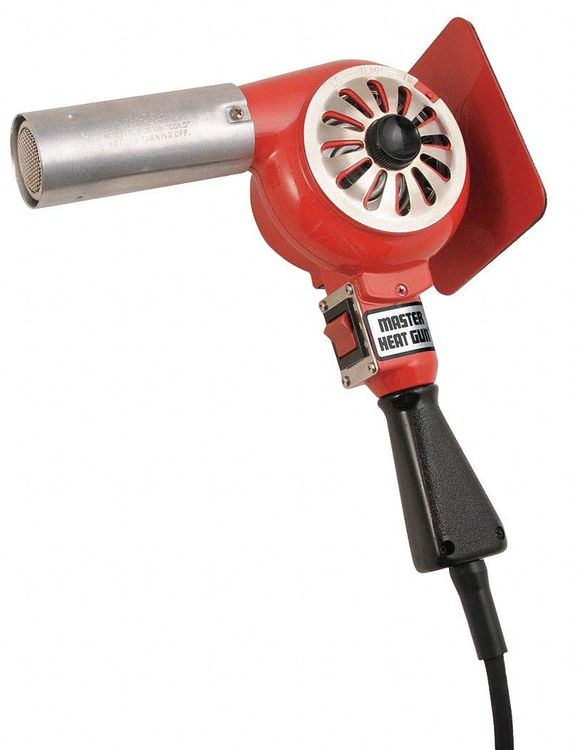 Master Appliance HG-752A-A1 Dual Temperature 750/1000° Heat Gun, 1740 Watts, 230 V, 60 Hz