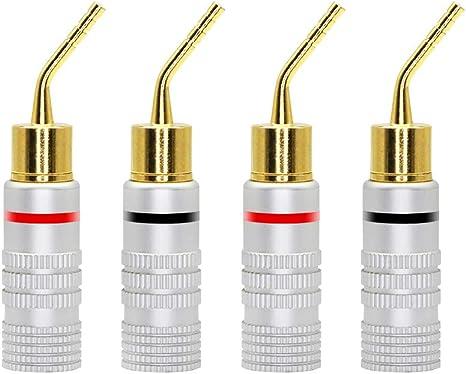 10x  2mm Brass Banana Socket Jack HGR Audio Cables Plug Connector H WYPTUK
