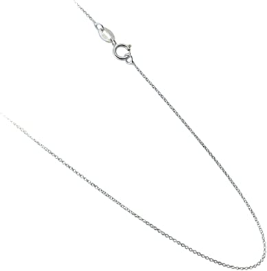 Silver Plated 1mm Silver Plated Chain Necklace 18 Snake Chain Jewelry Necklace