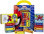 Marvel - Spider-man Super Hero Adventures - My First Library Board Book Block 12-Book Set - Includes Character