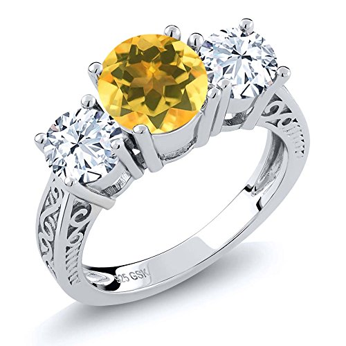 Sterling Genuine Citrine jewelry Available