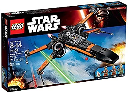 Amazon Com Lego Star Wars Poes X Wing Fighter 75102 Building Kit Toys Games