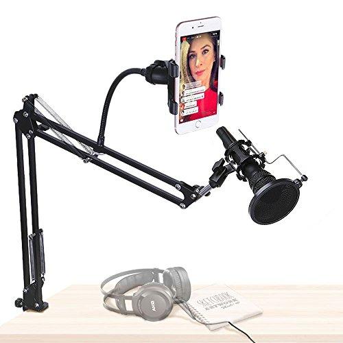 desk boom mic stand - 6