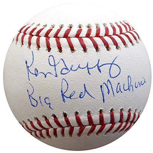 KEN GRIFFEY SR. AUTOGRAPHED OFFICIAL MLB BASEBALL CINCINNATI REDS