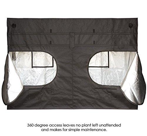 "51JjVnS1WRL - 4'x8' Gorilla Grow Tent SHORTY w/ 9"" Extension Kit"