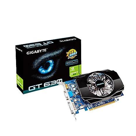 Gigabyte GT 630 - Tarjeta gráfica (2 GB DDR3, 128 bit, 700 MHz, HDMI)