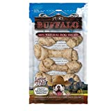 Loving Pets Pure Buffalo 5 Piece 3-4″ Bully Stick Dusted Rawhide Bone For Dogs (1 Pack), Small Review