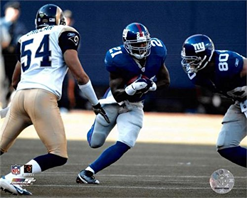 Autograph 178805 New York Giants Image No. 10 Tiki Barber Unsigned 8 x 10 in. Photo (Autographed Barber Photo)