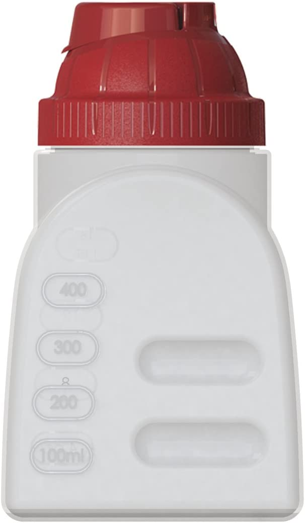 United Solutions FS0038 One Pint BPA-Free Plastic Refrigerator Bottle with Lid - 1 Pint Plastic Refrigerator Bottle and Lid