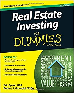 Real estate investing for dummies eric tyson robert s griswold real estate investing for dummies eric tyson robert s griswold 9781118948217 amazon books ccuart Image collections