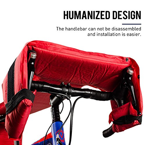 Muses Poem Road and Mountain Bike Travel Transport Bag Bicycle Carry Bag by bike case 002 (Image #4)