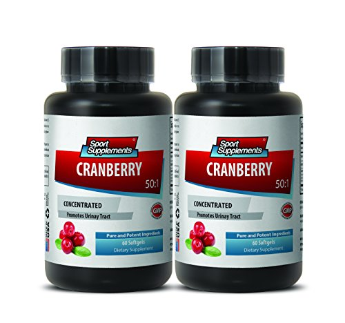 Cranberry Supplement for Children - Cranberry Concentrated Extract 50 : 1 Concentrate Equivalent to 12.600mg - Cranberry Premium Herbal Supplement to Boost Immune System (2 Bottles)