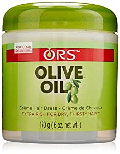 Organic Root Stimulator Olive Oil Cream, 6 Ounce